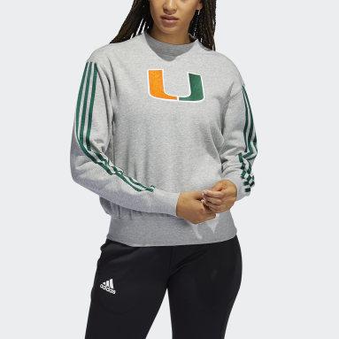 Women's Training Grey Hurricanes Vintage Crew Sweatshirt
