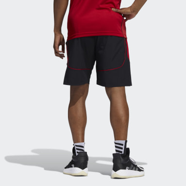 Men's Basketball Black Scarlet Knights NCAA Swingman Shorts