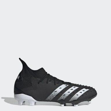 Fodbold Sort Predator Freak.2 Firm Ground støvler