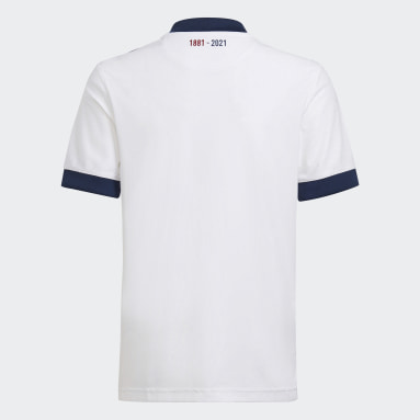 Boys Football White FC Girondins de Bordeaux 21/22 Away Jersey