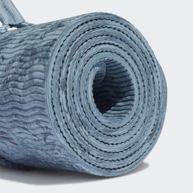 Camouflage Yogamatte Blå