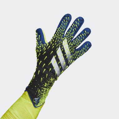 Luvas de Guarda-redes Predator Pro Preto Futebol