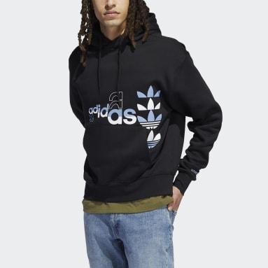 Mænd Originals Sort Logo Play hættetrøje