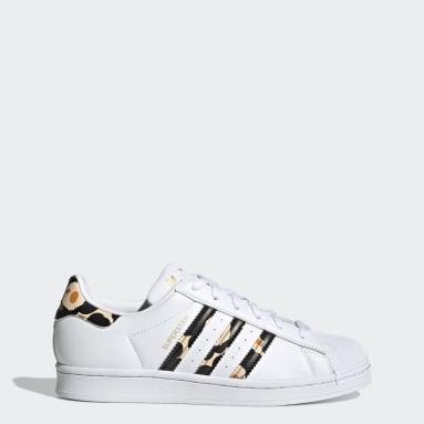 Frauen Originals Marimekko Superstar Schuh Weiß
