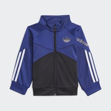 Conjunto chaqueta y pantalón adidas SPRT Azul Niño Originals