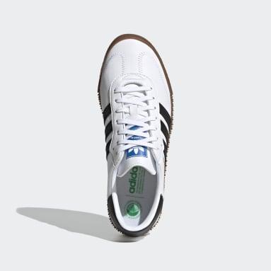 Frauen Originals SAMBAROSE Schuh Weiß