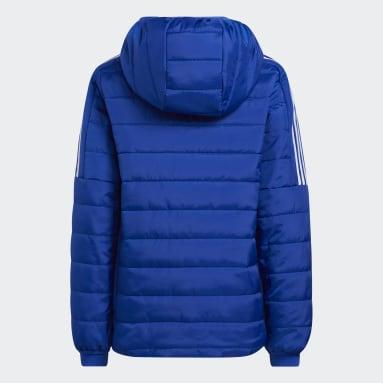 Youth Training Blue Puffer Jacket