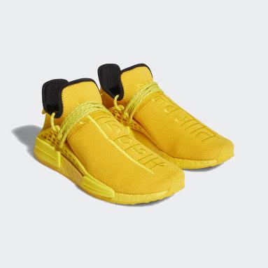 Männer Originals HU NMD Schuh Gold