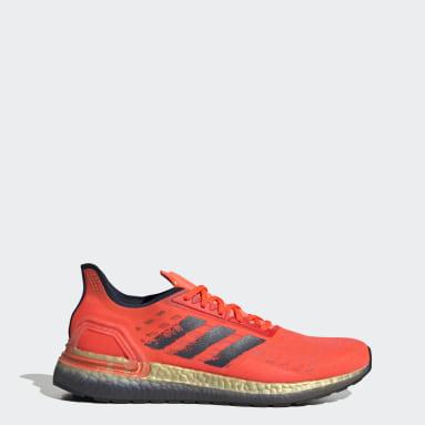 Men Running Orange Ultraboost PB Shoes