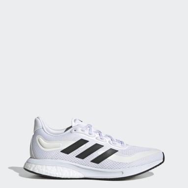 Women's Running White Supernova Shoes