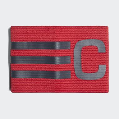 Braçadeira Futebol Capitão (UNISSEX) Vermelho Futebol