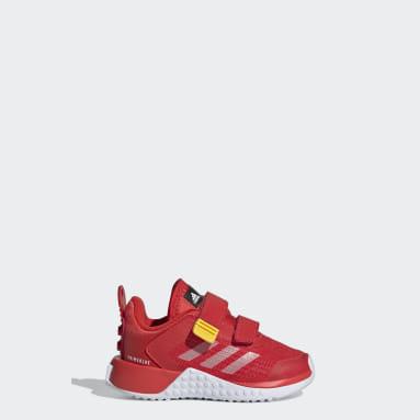 Kinderen Hardlopen rood adidas x Classic LEGO® Sport Schoenen