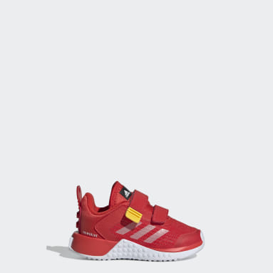 Chaussure adidas x Classic LEGO® Sport Rouge Enfants Running