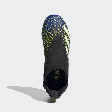 Kids Futsal Black Predator Freak.3 Laceless Indoor Boots