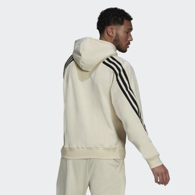 Felpa con cappuccio adidas Sportswear Future Icons Full-Zip Bianco Uomo Sportswear