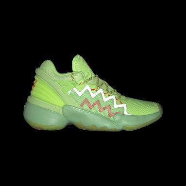Zapatillas D.O.N. Issue #2 Spidey Sense Verde Niño Básquet