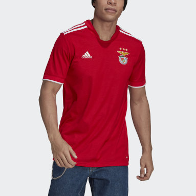 Maillot Domicile Benfica 21/22 Rouge Hommes Football