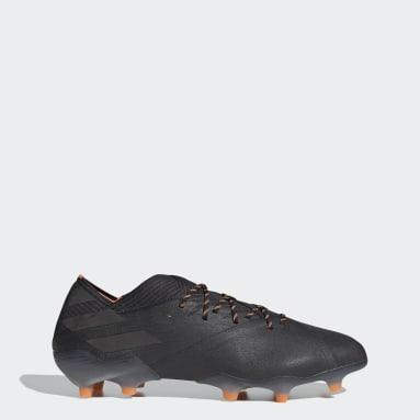 Men Football Black Nemeziz 19.1 Firm Ground Boots