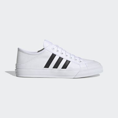 Men Originals White Collapsible Nizza Lo Shoes