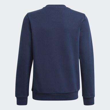 Kinderen Originals blauw Trefoil Sweatshirt