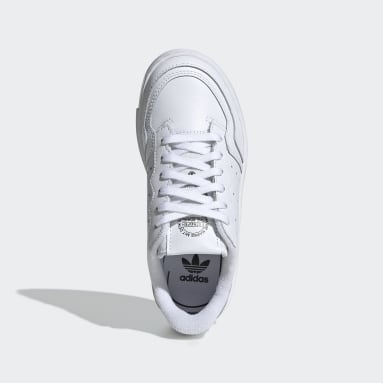Tenis Supercourt (UNISEX) Blanco Niño Originals