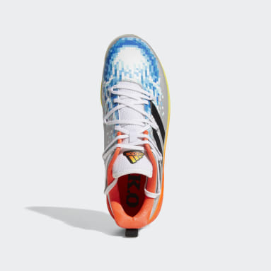 Men's Baseball Silver Afterburner 8 KO Turf Shoes
