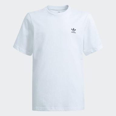 Děti Originals bílá Tričko Adicolor