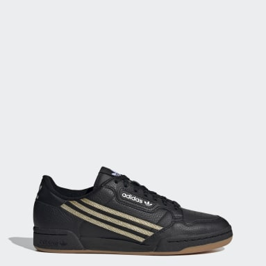 ผู้ชาย Originals สีดำ รองเท้า Continental 80