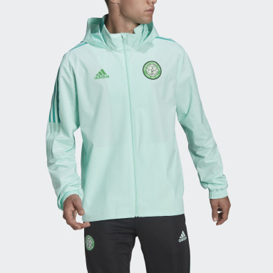 Chaqueta Celtic FC Condivo All-Weather Turquesa Hombre Fútbol