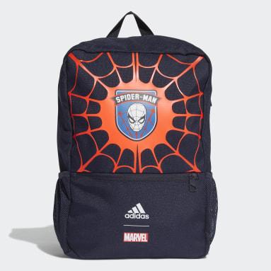 เด็กผู้ชาย เทรนนิง สีน้ำเงิน กระเป๋าเป้ Marvel Spider-Man Primegreen