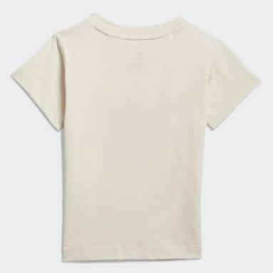 Graphic Non-Dye Organic Cotton T-skjorte Hvit