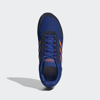 Tenis Run 70s Azul Hombre Diseño Deportivo