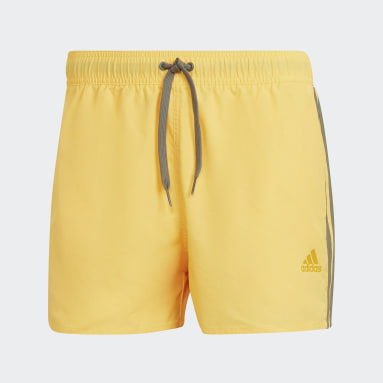 Men's Swim Gold Classic 3-Stripes Swim Shorts