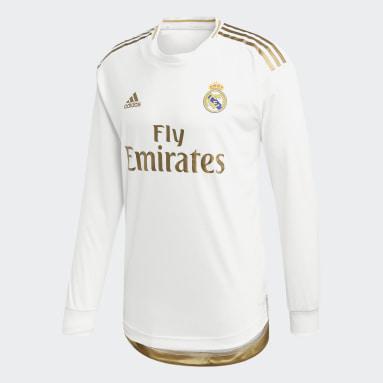 Heren Voetbal Wit Real Madrid Authentiek Thuisshirt