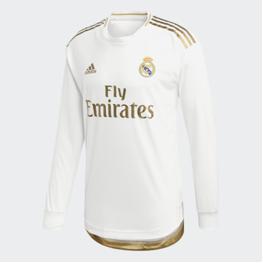 Männer Fußball Real Madrid Heimtrikot Authentic Weiß