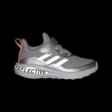 Kids 4-8 Years Running Silver Fortarun Freelock Running Shoes