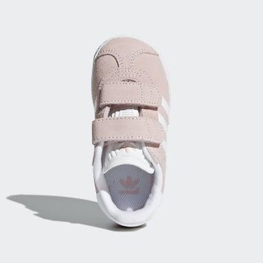 Kids Originals Pink Gazelle Shoes