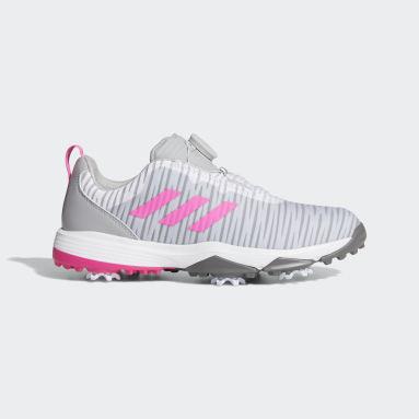 Children Golf Grey Junior's CodeChaos BOA Golf Shoes