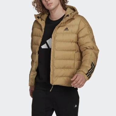 Itavic 3-Stripes Midweight Hooded Jacket Beżowy