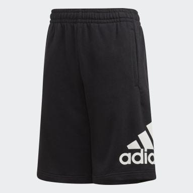 Boys Gym & Training Black Must Haves Badge of Sport Shorts