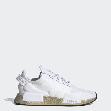 Women Originals White NMD_R1 V2 Shoes