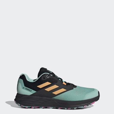 Men's TERREX Green Terrex Two Flow Trail Running Shoes