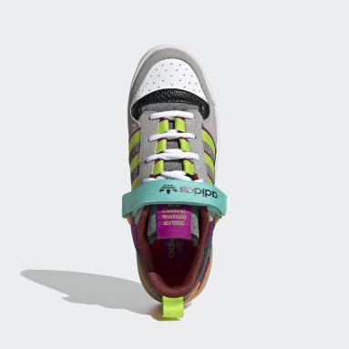 Women Originals Pink Forum Low Shoes