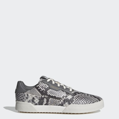 Women's Golf White Adicross Retro Spikeless Shoes