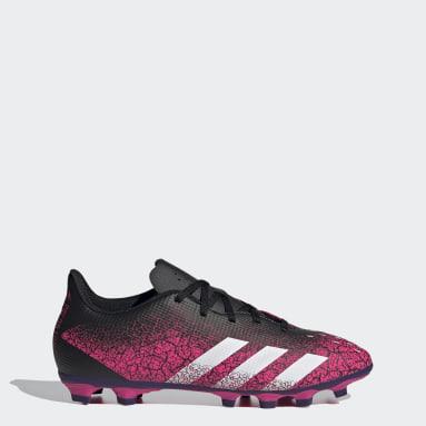 Men Football Pink Predator Freak.4 Flexible Ground Boots