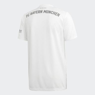 Jersey de Visitante FC Bayern Blanco Hombre Fútbol