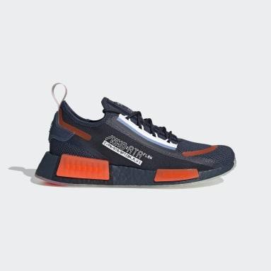Men's Originals Blue NMD_R1 Spectoo Shoes