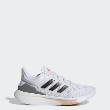 Women Running White EQ21 Run Shoes