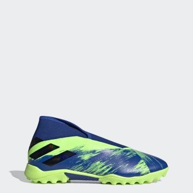 Calzado de Fútbol Nemeziz 19.3 Pasto Sintético Verde Hombre Fútbol