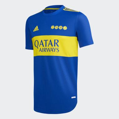 Camiseta Titular Oficial Boca Juniors 21/22 Azul Hombre Fútbol